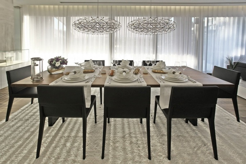 Contemporary dining room interior design ideas for Designer dining room suites