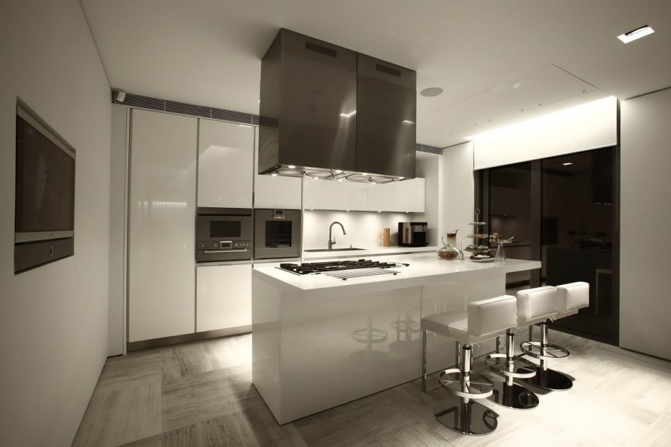 Contemporary Kitchen - Bold cosmopolitan house in istanbul