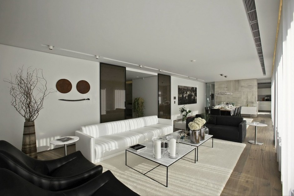 Contemporary Living Room - Bold cosmopolitan house in istanbul