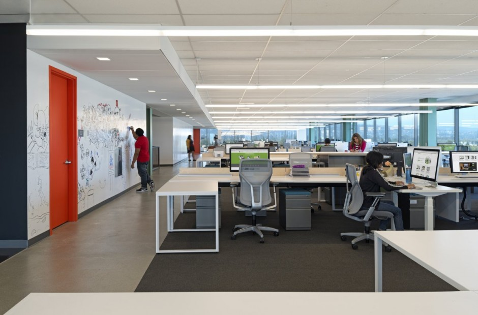 Creative Open Office Space - Evernote office interiors