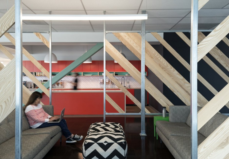 Employee Lounge - Evernote office interiors