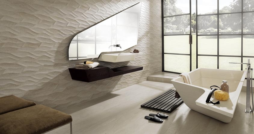 Porcelanosa contemporary home products for Porcelanosa salle de bain
