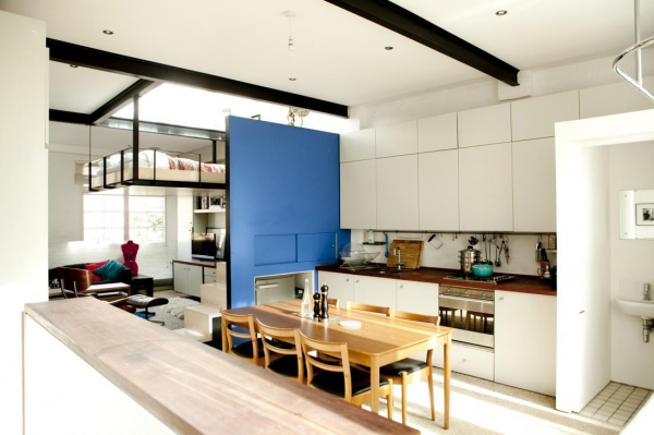 kitchen dining combination space