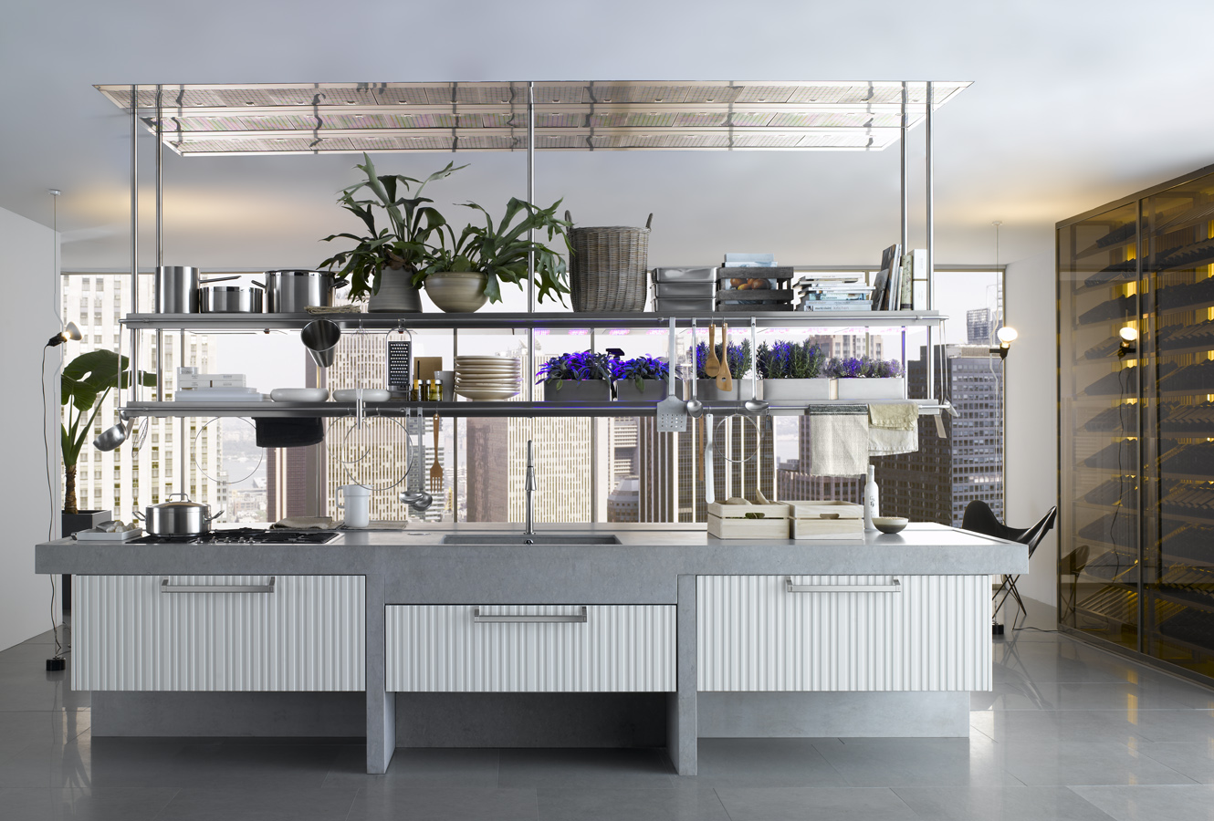 Modern italian kitchen design from arclinea - Organizer cucina ...
