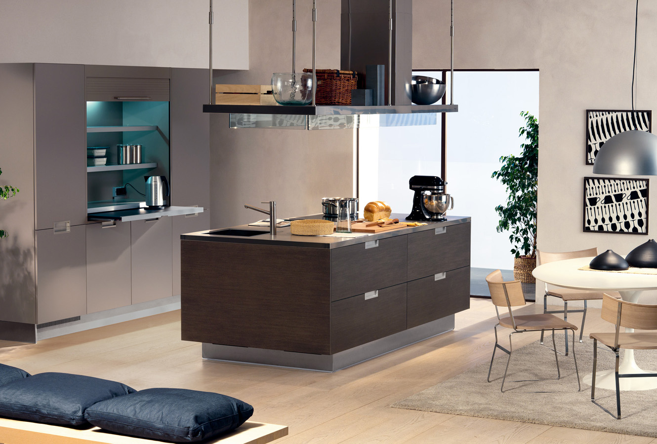 Modern italian kitchen design from arclinea for Cuisine contemporaine design
