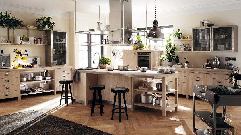 Contemporary kitchens for large and small spaces - Cucina diesel scavolini ...