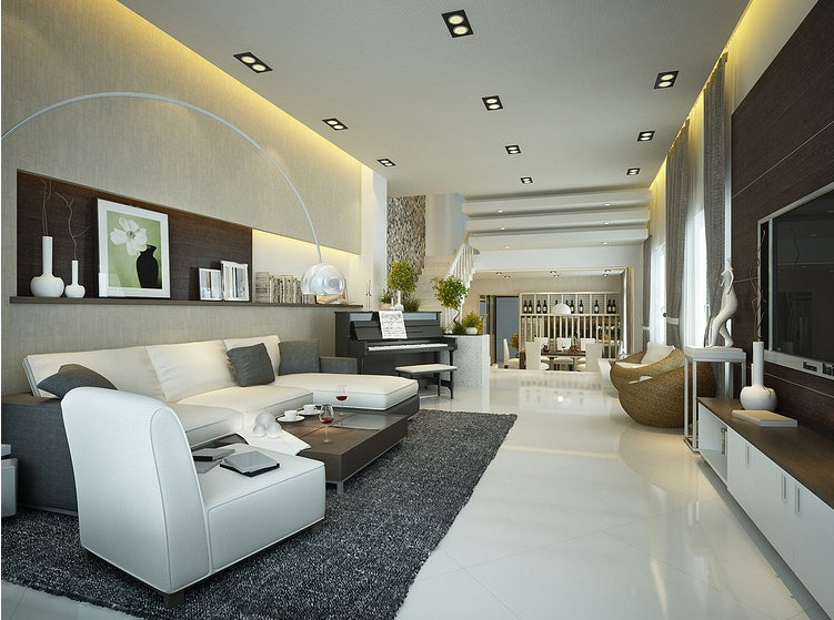 Interior designs filled with texture for Room 21 design
