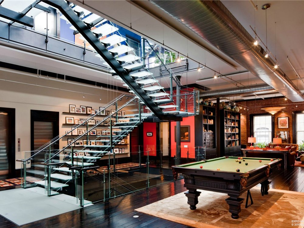 Tribeca loft mansion has million dollar style for Loft new york affitto