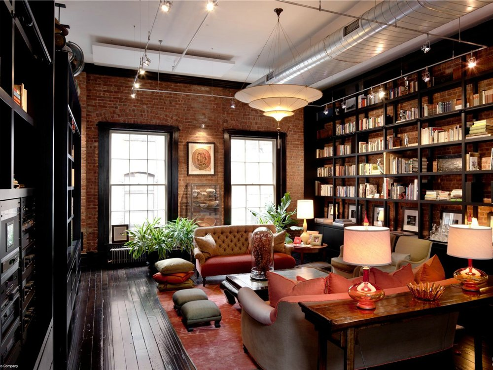 mansion loft library den | Interior Design Ideas.