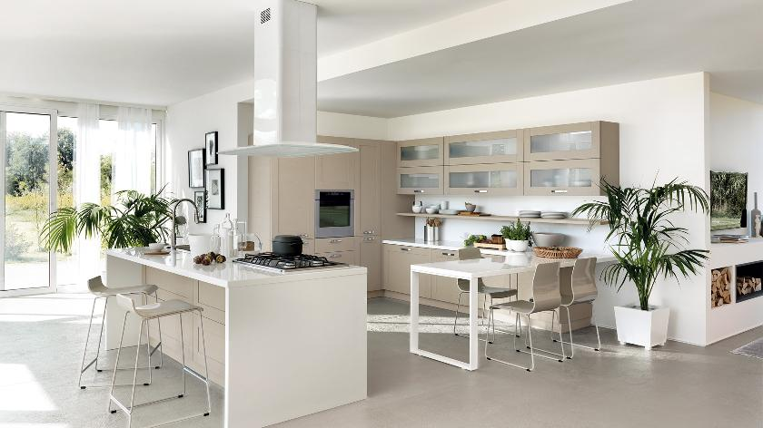 Contemporary kitchens for large and small spaces - Modern white kitchen design ideas ...