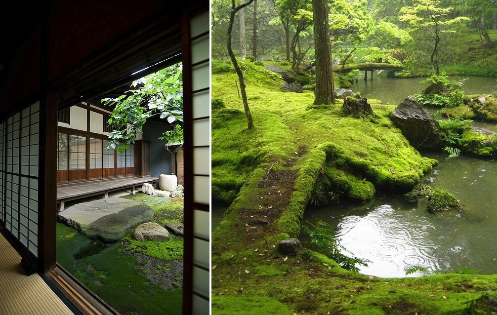 Japanese zen gardens for Jardin indoor