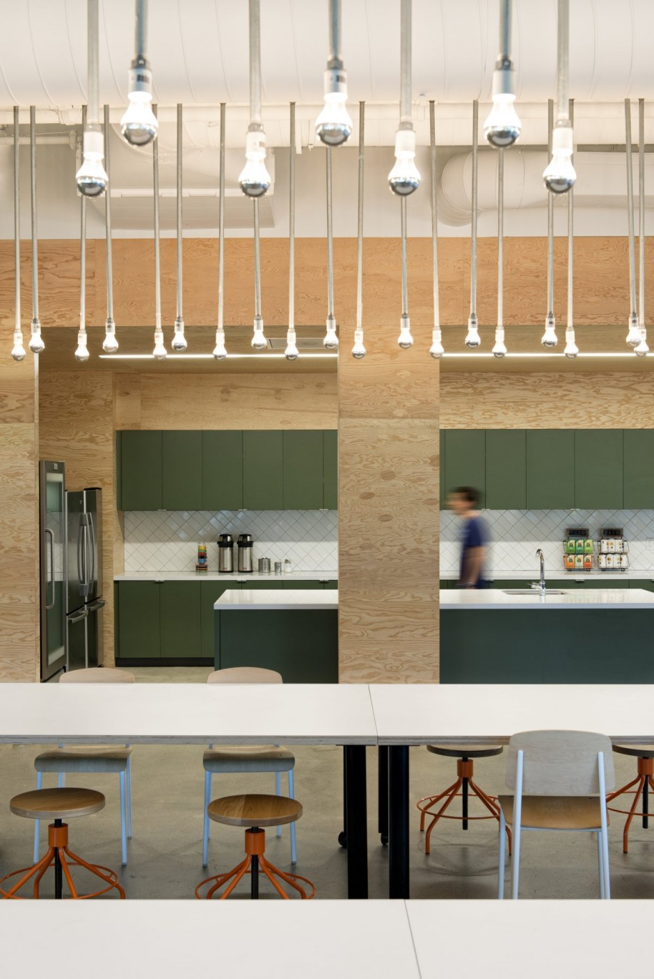 Office Kitchen Lighting - Evernote office interiors