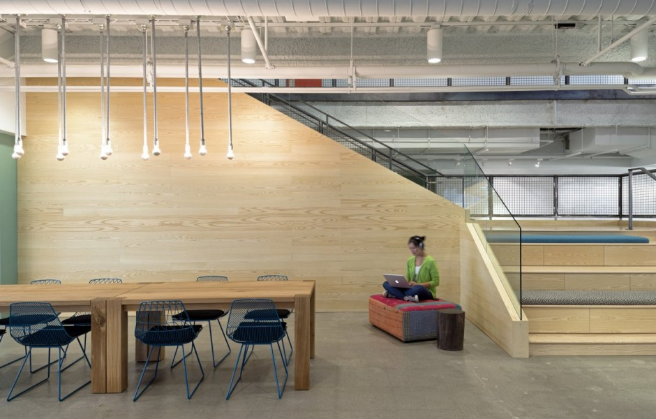 Open Meeting Space - Evernote office interiors