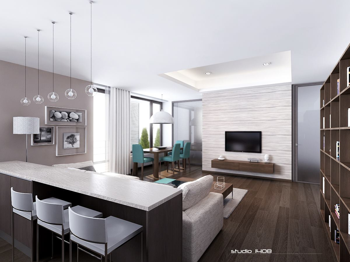 Studio Apartment Minimalist apartment living for the modern minimalist