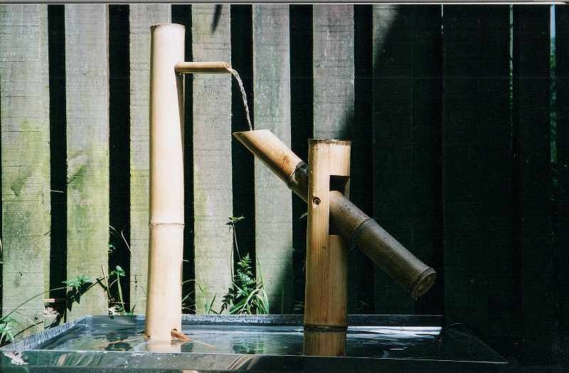 Exceptional Shishi Odoshi:Â Japanese Bamboo Water Feature
