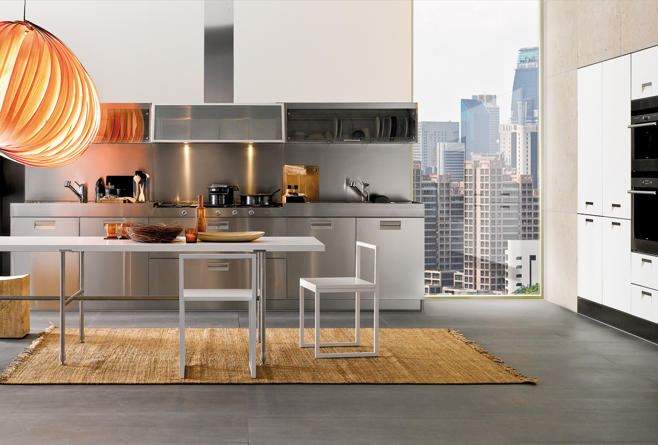 Stainless Steel Kitchen - Modern italian kitchen design from arclinea