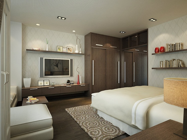 Interior designs filled with texture for Complete bedroom design
