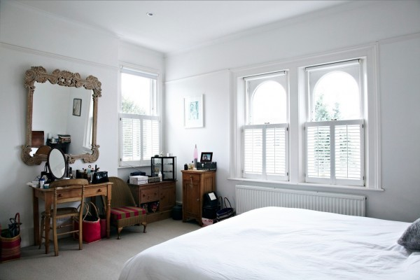 walnut furniture white bedroom