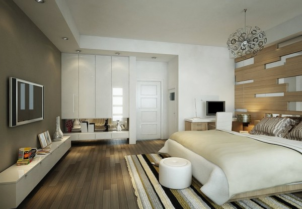 wood design bedroom