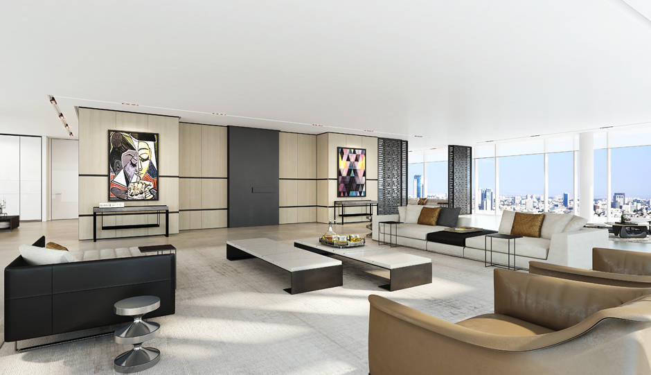 Inside tel aviv 39 s newest luxury residences visualization for Modern luxury apartment design