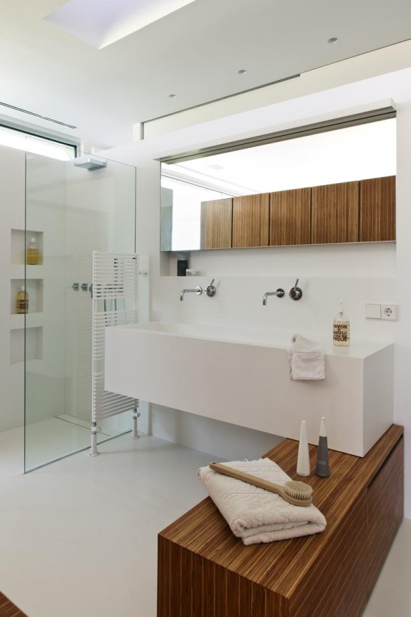 12 clean modern bathroom interior design ideas Clean modern interior design