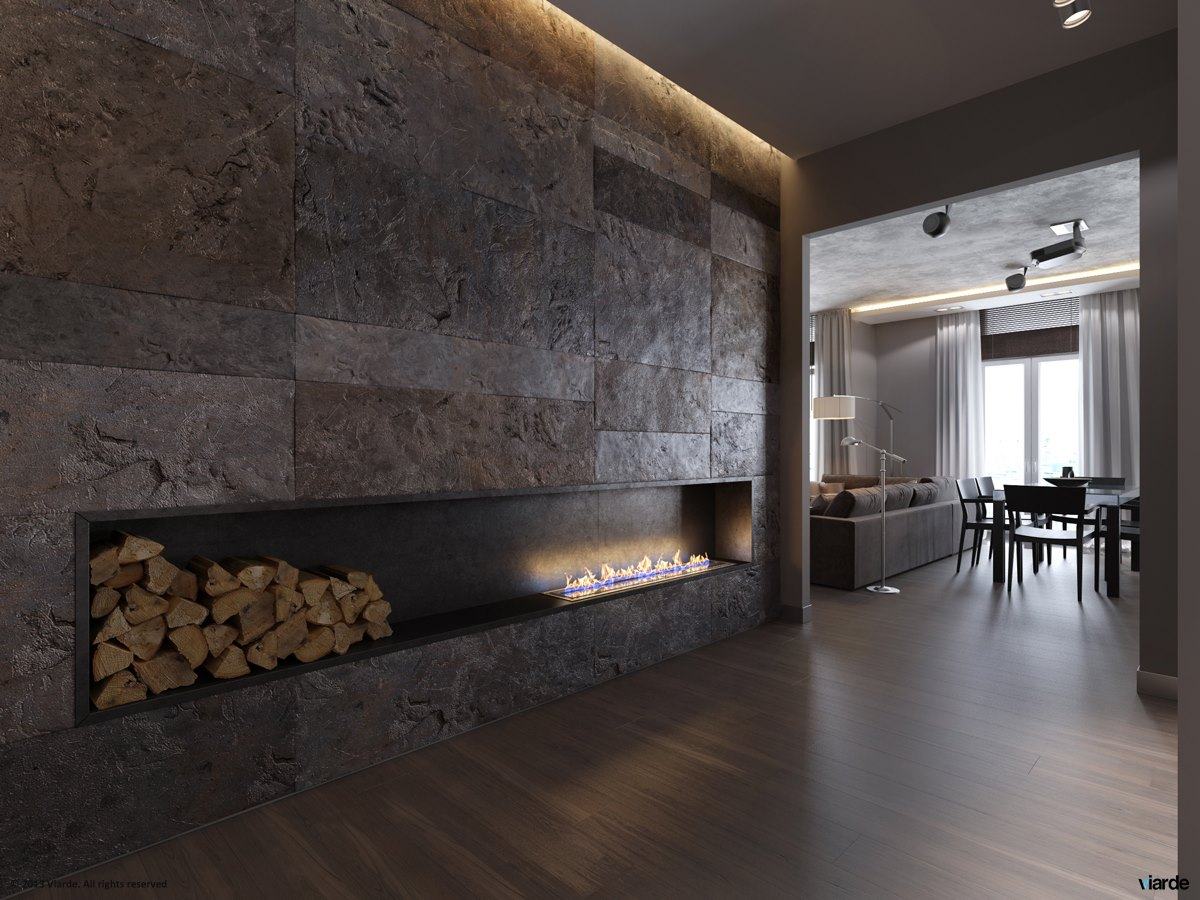 17 Ultramodern Fireplace Interior Design Ideas