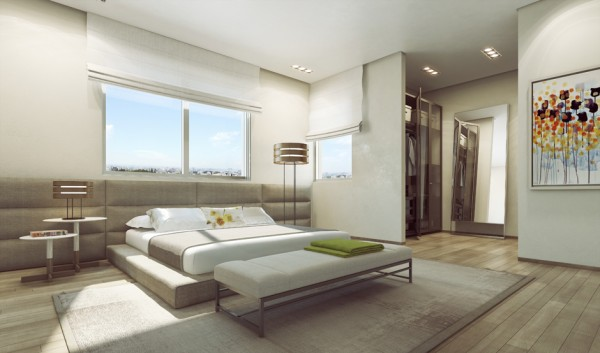 Ando Studio: Modern Home and Luxury Apartment Renderings