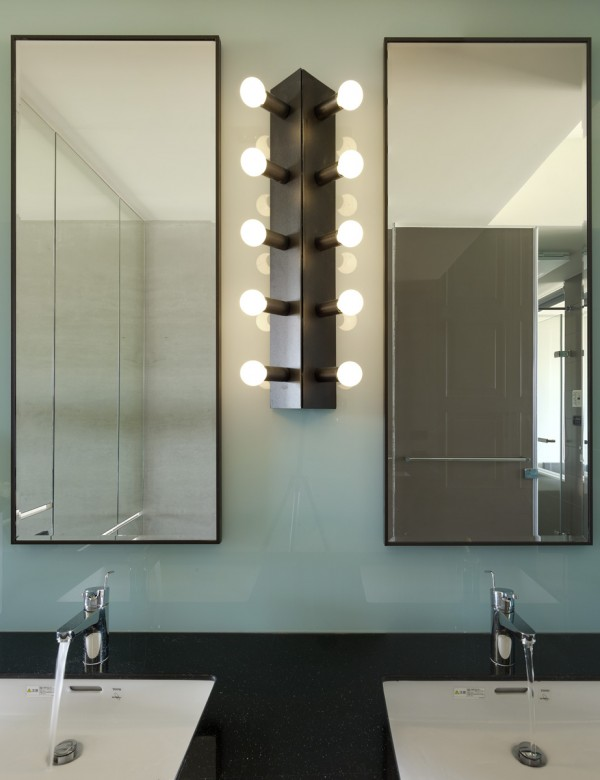 9 creative bathroom lighting