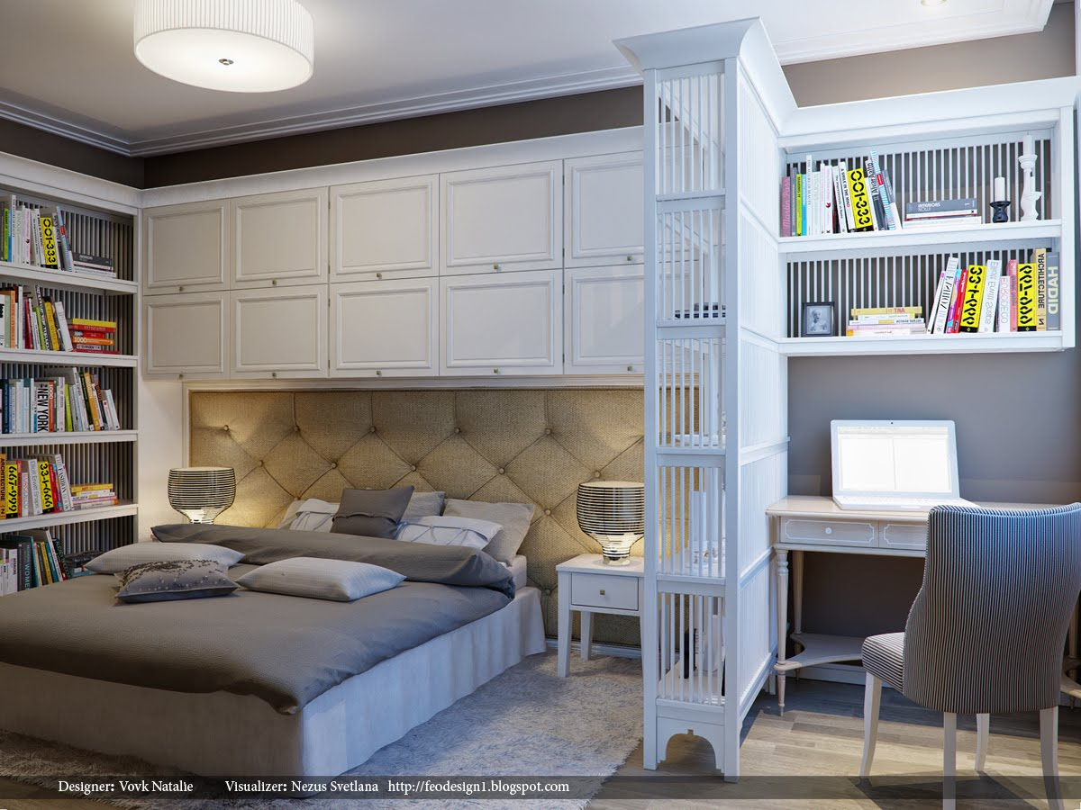 Bedroom Storage Space - Bedroom Ideas