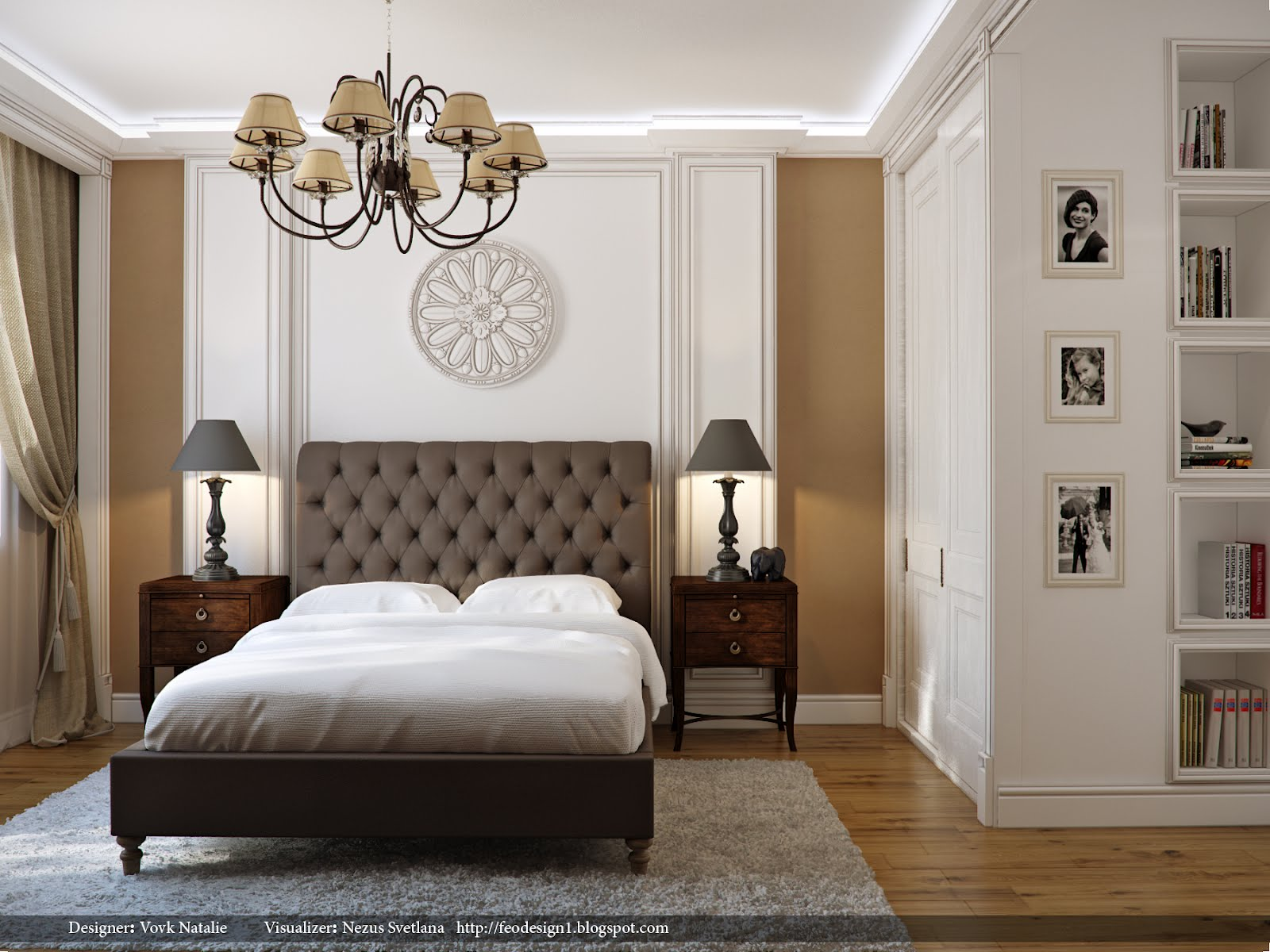 elegant bedroom interior design ideas ForElegant Bedroom Designs