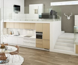 20 Sleek Kitchen Designs With A Beautiful Simplicity The Perfect Kitchen Doesnt Have To Take Up