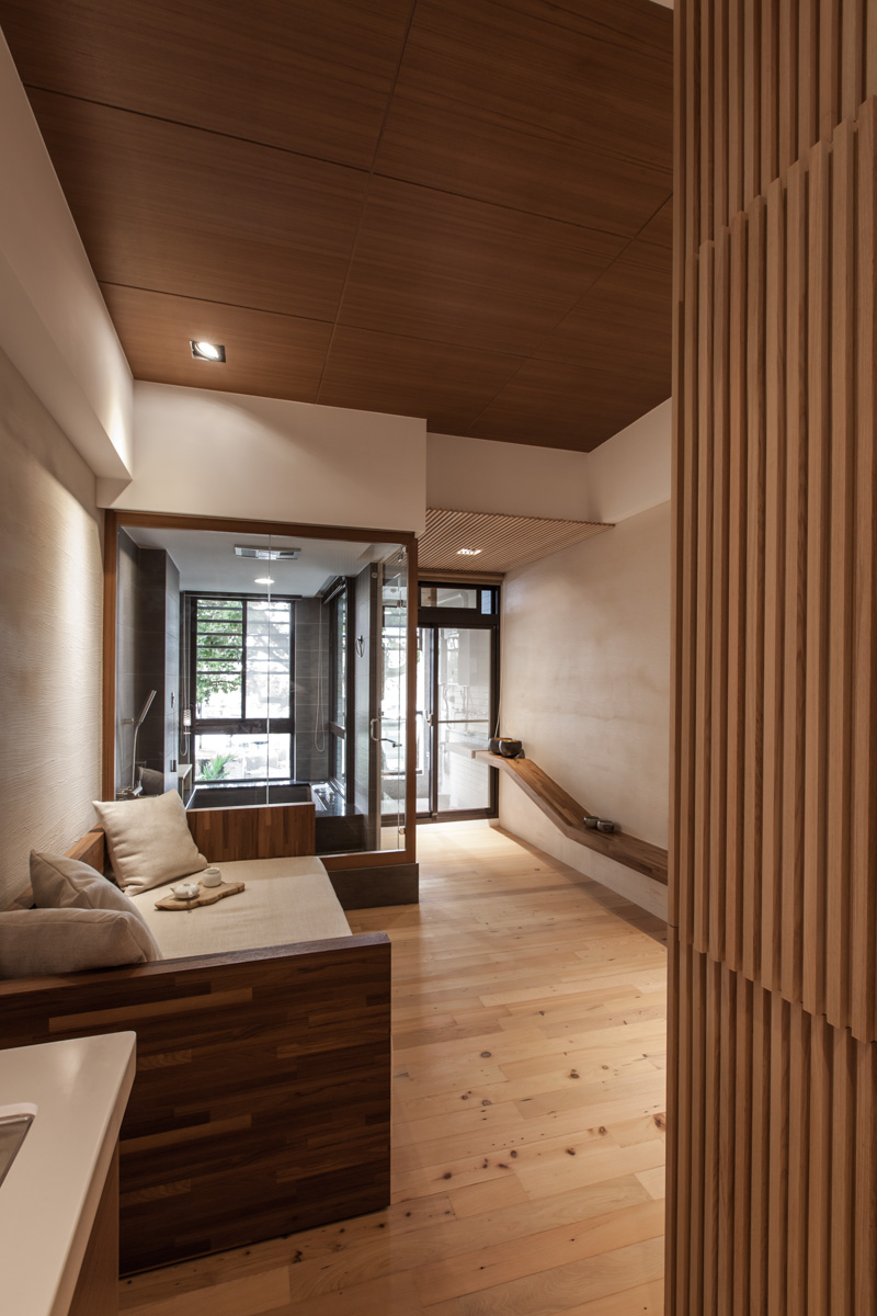 Modern japanese house for Room design wood