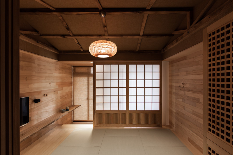 Modern japanese house for Modern japanese tea house design