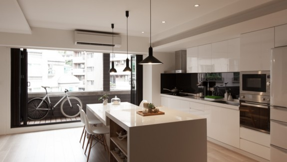 Sparkling Urban Apartment Design