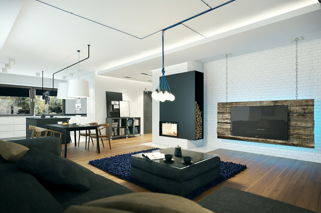 Small modern home visualization - Small modern houses with loft the practical choice ...