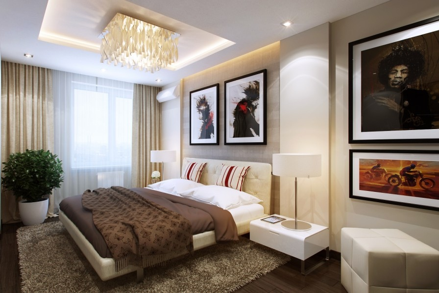Small bedrooms use space in a big way for Decoracion de recamaras principales