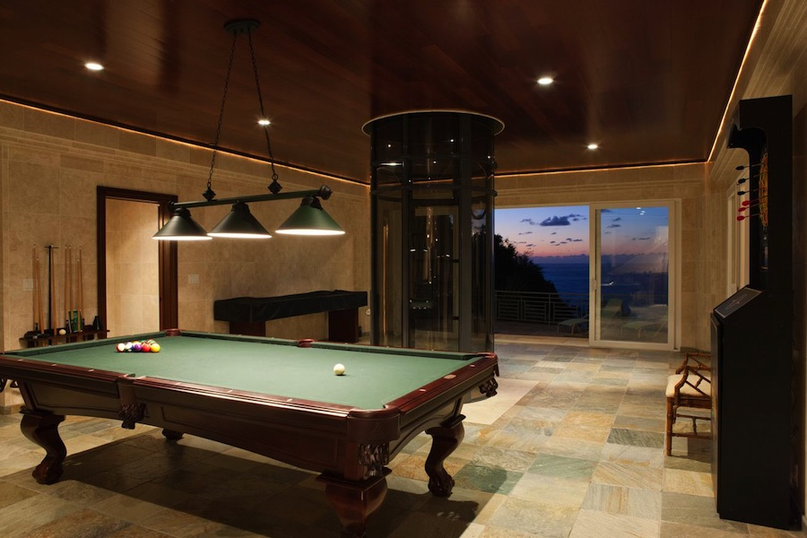 Billiards room interior design ideas for Pool table room design
