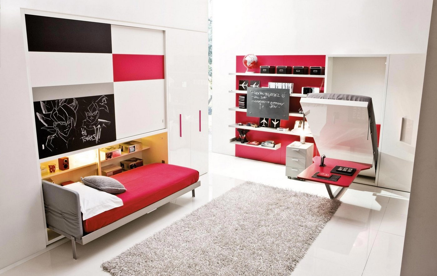 transformable space saving kids rooms. Black Bedroom Furniture Sets. Home Design Ideas