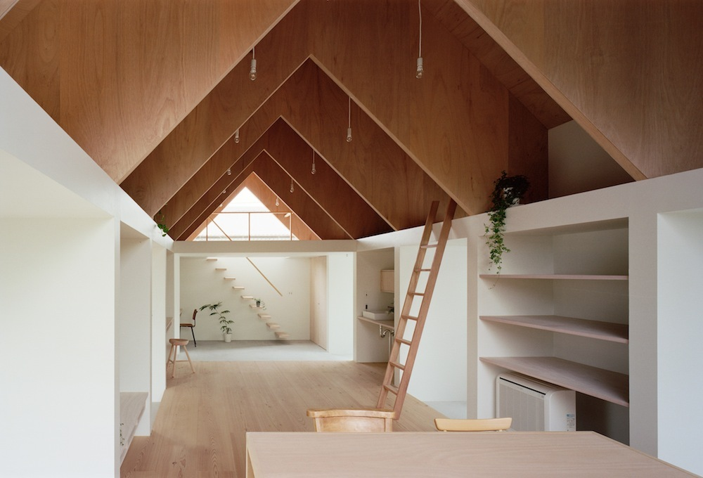 Japanese minimalist home design for Minimalist house type 36