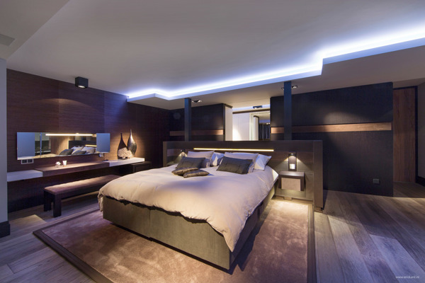 Ultra Modern Bedrooms ultramodern, sleek house with sharp lines