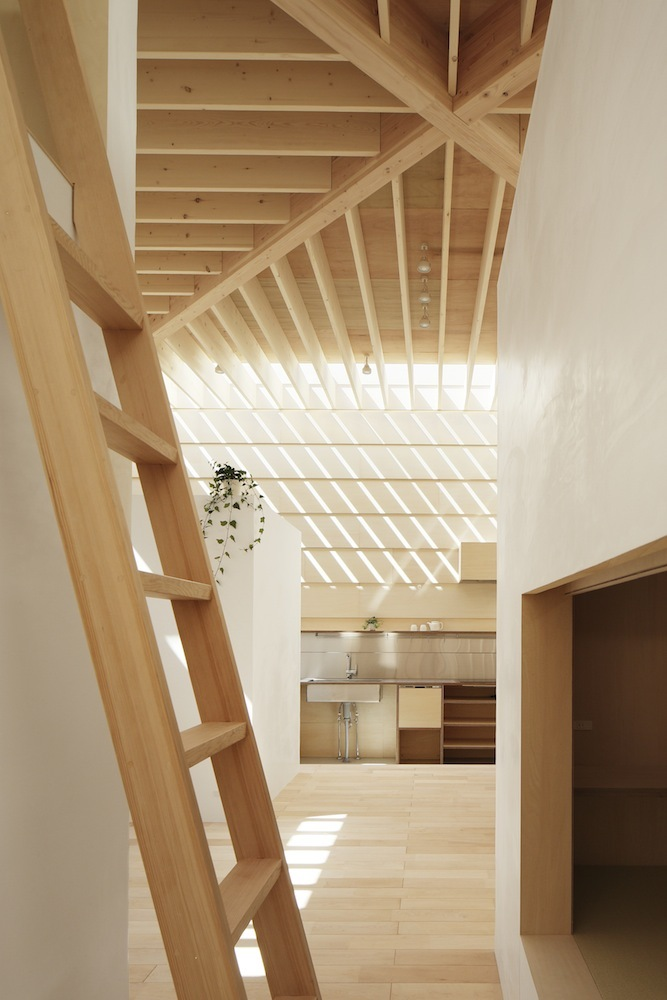 interior wooden ladder | Interior Design Ideas.
