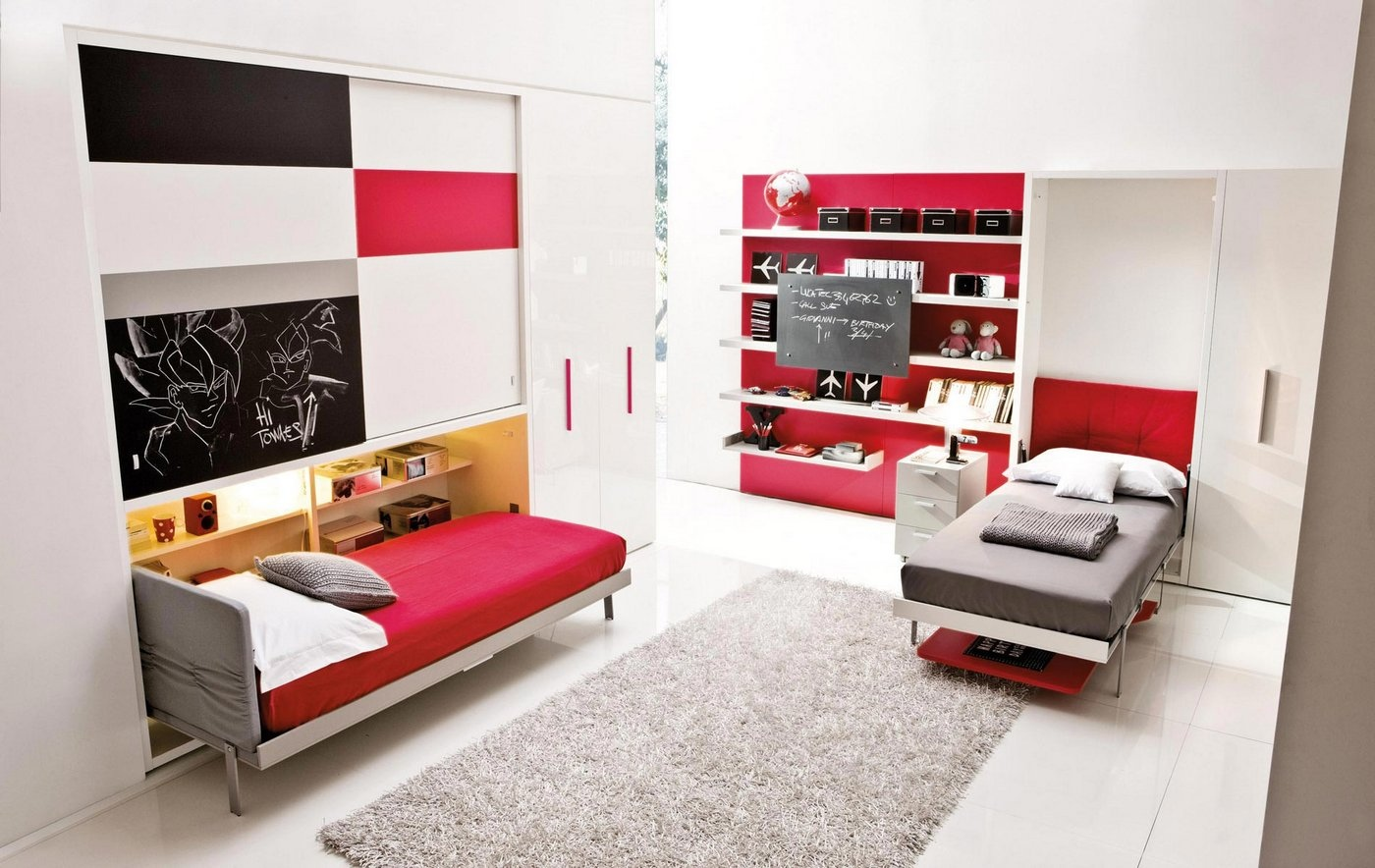 Kid Room Murphy Beds 1400 x 884
