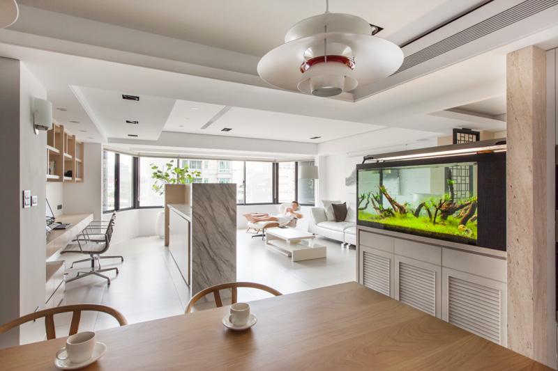 Modern aquarium interior design ideas for Aquarium interior designs pictures