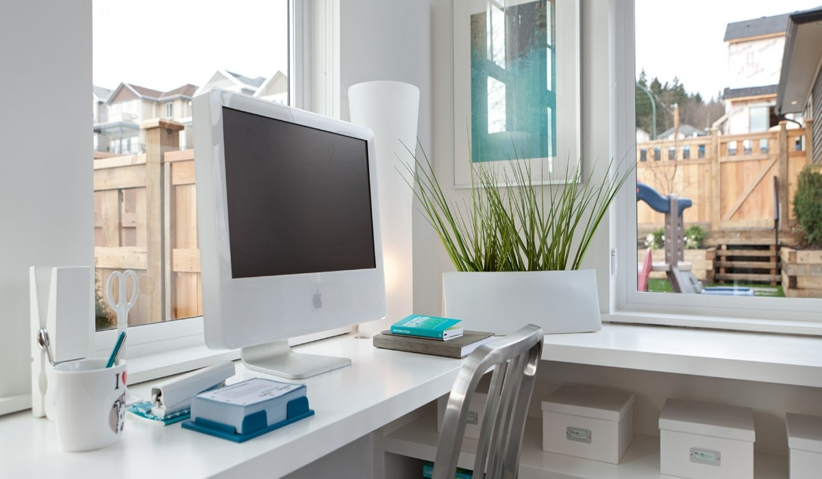 Modern Office - Playfully colorful interiors