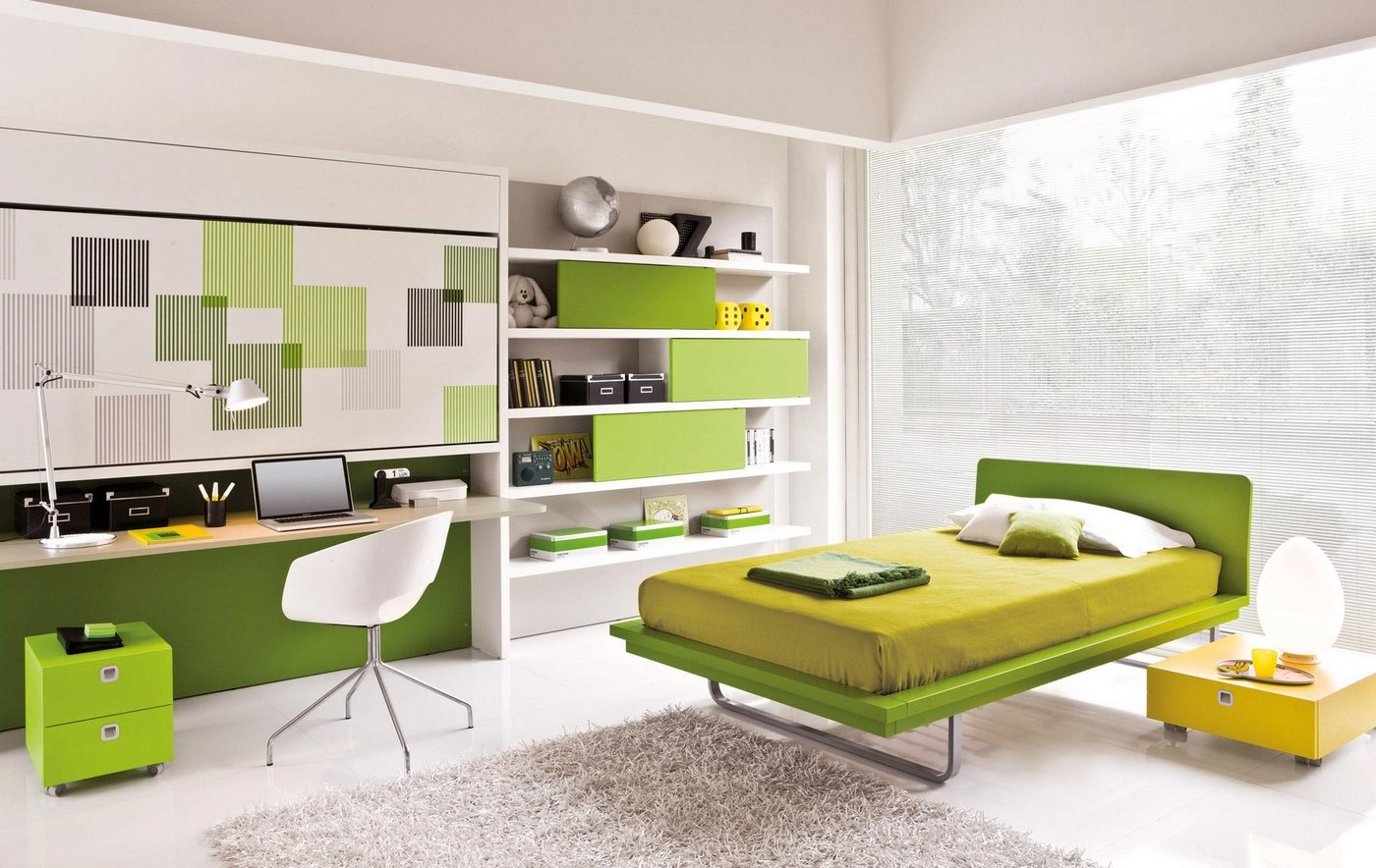 Modern study area interior design ideas Home study furniture design