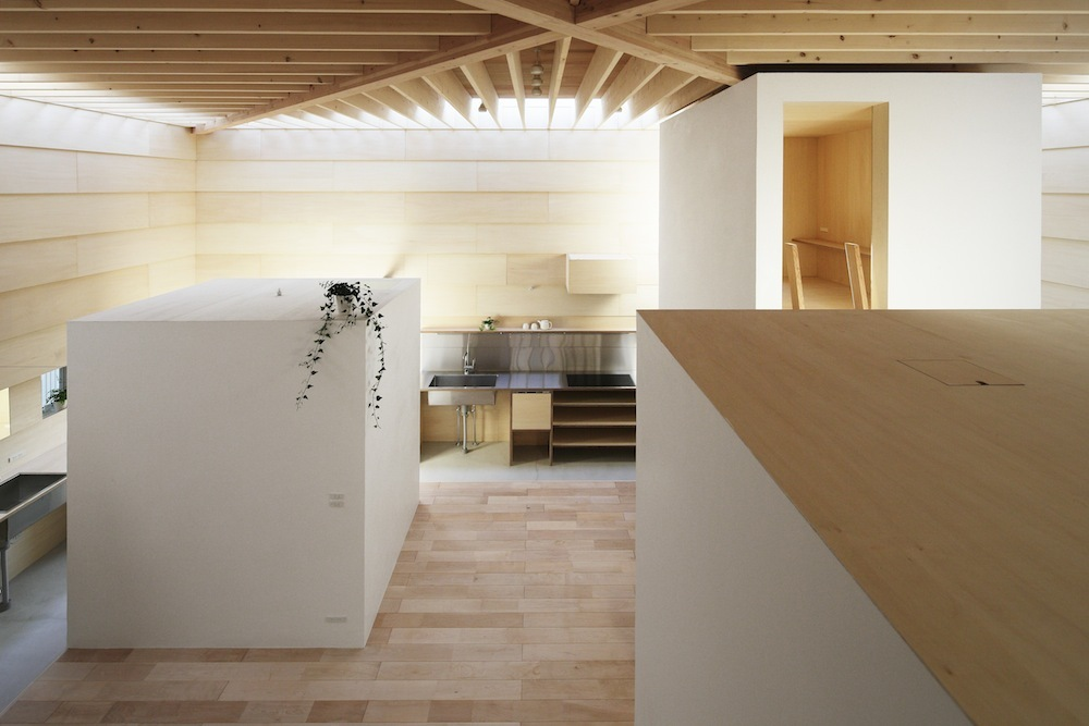 Japanese minimalist home design - Unique minimalist wooden house for natural and spacious room ...