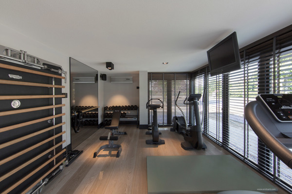Personal Gym Interior Design Ideas