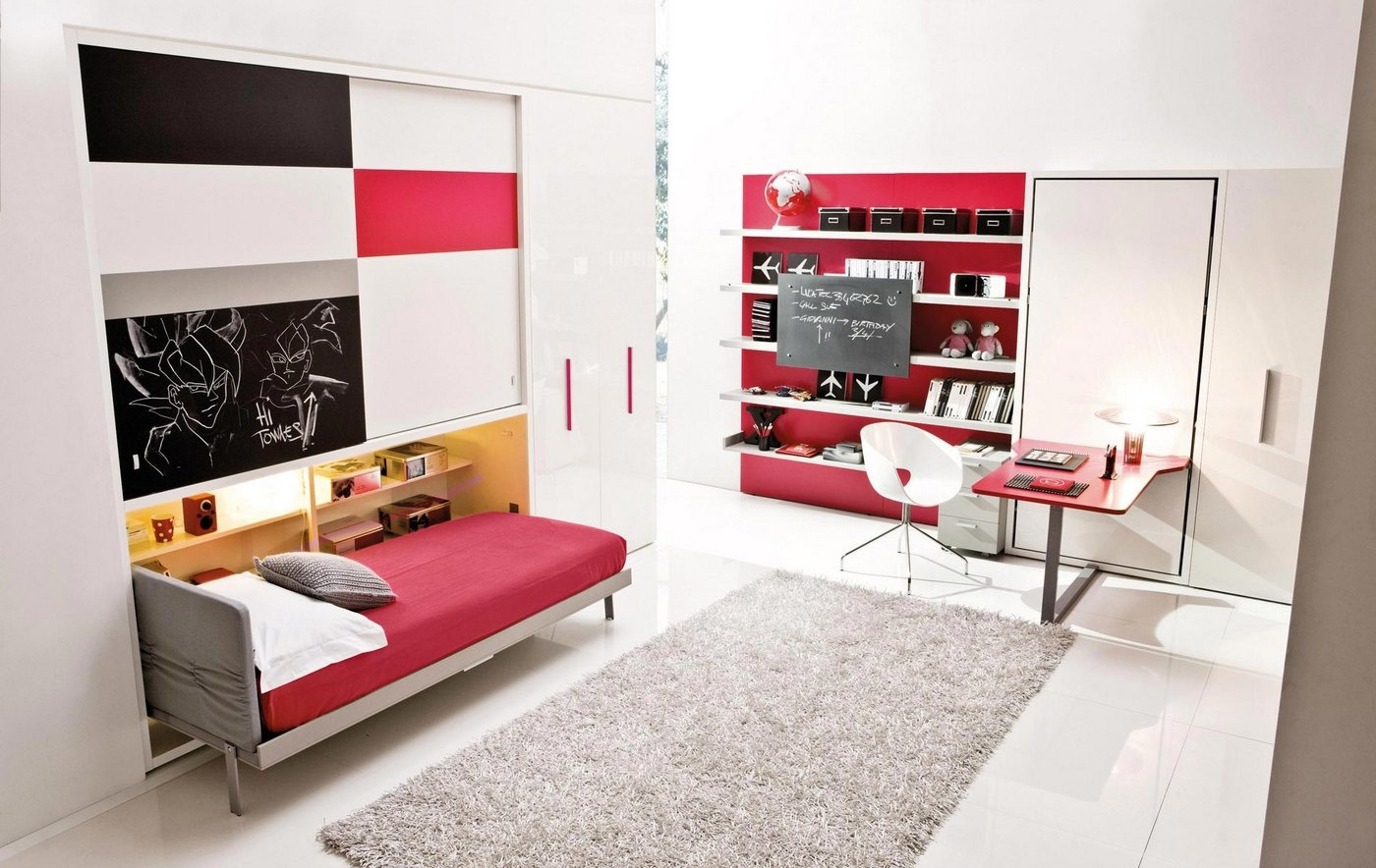 & Transformable Space Saving Kids Rooms