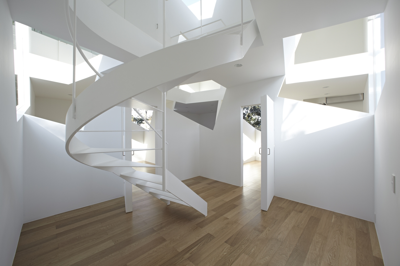 Spiral Stairs Interior Design Ideas