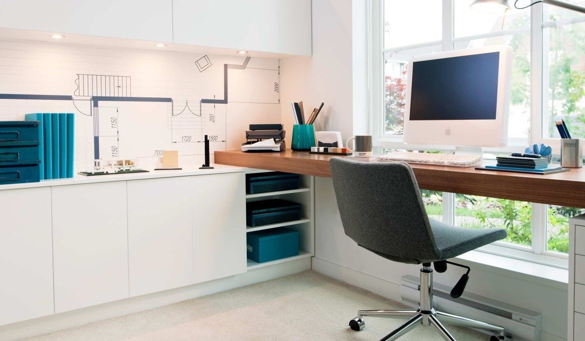 Sunny Office Space - Playfully colorful interiors